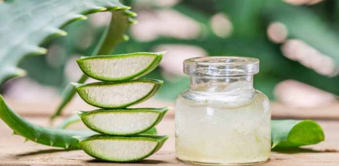 benefits of aloe vera on face, skin, and hair